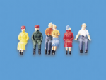 5056 Modelscene: OO PEOPLE  Passengers, Seated